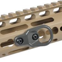 M-LOK Paraclip Sling Mount Attachment KeyMod Sling Swivel Stud for MS2 MS3 Strap
