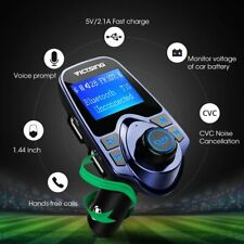 VICTSING Car Bluetooth FM Transmitter Wireless Radio Dual USB Charger MP3 Player
