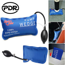 US Rectangle Inflatable Air Pump Wedge Door Window Shim Car Alignment Hand Tool