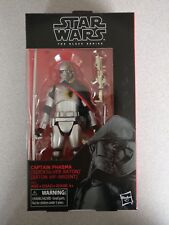 "STAR WARS BLACK SERIES 6"": CAPTAIN PHASMA (QUICKSILVER BATON)"