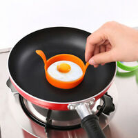 Round Omelette Fry Eggs Ring Pancake Poach Mold Kitchen Cooking Tool Silicone