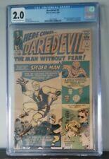 Daredevil #1 (1964, Marvel) 1st Daredevil, CGC 2.0 Silver Age CRM/OW