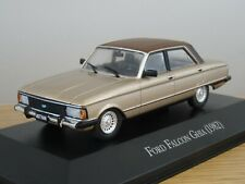 ALTAYA IXO FORD FALCON GHIA 1982 GOLD & BROWN CAR MODEL MQ05 1:43