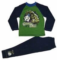 Official Boys Marvel The Hulk Pyjamas Pajamas Pjs Kids Childrens 5 6 8 10