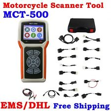 Universal Motorcycle Scanner Tool MCT-500 OBD2 Diagnostic Fault Code Reader