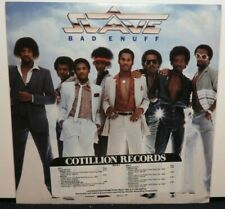 SLAVE BAD ENUFF (NM) PROMOTIONAL COPY 90118-1 LP VINYL RECORD