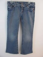 Silver Jeans Womens Size 30 / 33 (31 x 30 Actual) 77 Style Flare Leg Light Wash