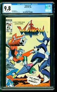 Voltron 2 CGC 9.8 NM/MINT Defenders of the Universe Modern 1985