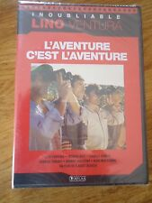 // NEUF * L'AVENTURE C'EST L'AVENTURE * COLLECTION LINO VENTURA BREL ATLAS DVD