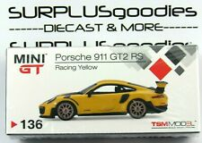 Tsm Model Mini-Gt 1:64 2020 Overseas Box Lhd Racing Yellow Porsche 911 Gt2 Rs