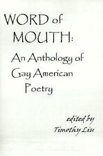 Word of Mouth   :An Anthology of Gay American Poetry