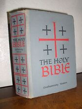 The Holy Bible - Confraternity Version (Benziger Brothers, Hardcover, 1961)