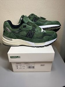 New Balance 992 JJJJound Green M992JJ  100% Authentic Size 9 US DS New!