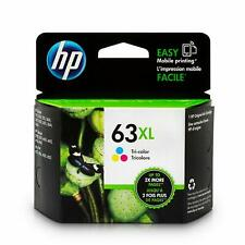HP 63XL Cartouche d'encre d'origine haute rendement tricolore (F6U63AN)