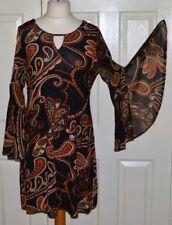 Wallis Polyester Long Sleeve Round Neck Dresses for Women