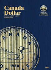 Whitman Canadian Dollar Coin Folder 1987-2008 Volume 4 #2489