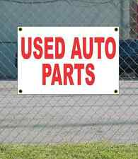 2x3 USED AUTO PARTS Red & White Banner Sign NEW Discount Size & Price FREE SHIP