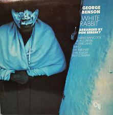 """GEORGE BENSON - WHITE RABBIT LP 12""""  DOUBLE COVER SPAIN 1978 EXCELLENT CONDITION"""