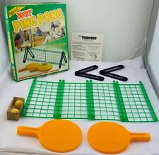 1982 Nerf Ping Pong Set Complete in Very Good Condition FREE SHIPPING