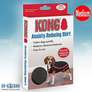 Genuine Kong Anxiety-Reducing Dog Shirt Size Medium Calming Vest Coat