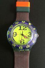 Swatch Scuba sdn 103 spray-up 1992 Originals buceo diving azul nuevo Top New!