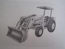 John Deere 110 Tractor End Loader Operators Manual