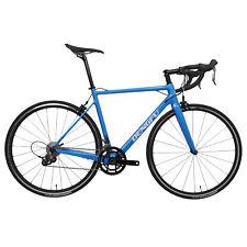 52cm Carbon Road Bicycle 11s Frame Wheels Clincher Fork V brake Blue 700C