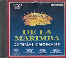 DE LA MARIMBA 20 TEMAS ORIGINALES CD NUEVO SEALED