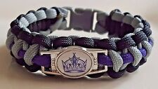 LA Kings Throw Back 2003-2011 Paracord Bracelet or Lanyard or Deluxe Key Chain