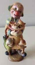 "ANRI FERRANDIZ 6""  SURPRISE WOODCARVING FIGURINE CLOWN"