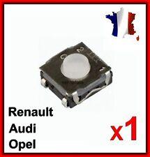 1 Interrupteur Switch Bouton Poussoirs Plip Clé Télécommande Renault Audi Opel