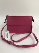 Guess Womens Crossbody Bag - Pink - Etery2 - With Dustbag - RRP £69