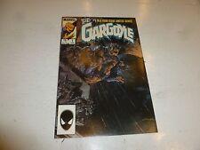 THE GARGOYLE Comic - No 1 - Date 06/1985 - Marvel Comic