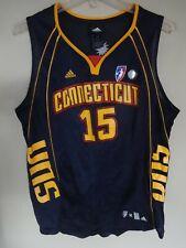 NWOT Adidas WNBA Connecticut Sun Jones # 15 Women Medium Basketball Jersey