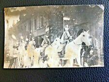 1939 CHINA WARLORD WU PEIFU FUNERAL PAPER HORSEBACK SOLDIERS PHOTO 民国军阀吴佩孚葬礼纸骑兵