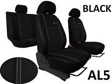 AUDI A3 8P 03-12 Eco Cuero Alcantra cubiertas de asiento asiento de coche hecha a medida para