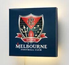 Melbourne Demons AFL Wall Lamp Kids Bedroom Bar Gift