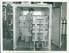 1939 National Archives, Old Records Fumigated Original News Service Photo