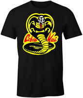 Cobra Kai Shirt T-Shirt Karate Kid Decal Patch Costume Gear Womens Mens Apparel