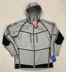 New! $350 COLUMBIA PFG FORCE XII ODX Waterproof Fishing Jacket FM0252 / Men's XL
