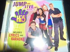 Hi-5 / Hi Five Jump And & Jive With (Australia) Kids / Childrens CD – Like New