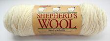 Vintage Caron Shepherd's Wool 100% Worsted Wool 4-Ply Yarn - 1 Skein White #001