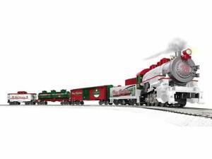 Lionel 1923150 Winter Wonderland LionChief O Gauge Train Set with Bluetooth