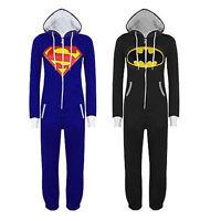 Unisex Kigurumi Pajamas Batman Cosplay Costume Pyjamas Adult Jumpsuit