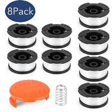 "8Pack Line String Black&Decker Trimmer Replacement Spool 30ft 0.065"" AF-100-3ZP"