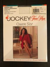 Jockey for Her queen pantyhose white