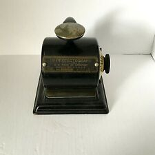 Vintage Protectograph Check Writing Machine