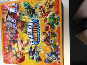 Skylanders Bundle Figures Game Storage case PS3 Game Skylanders Giant 26 Figures