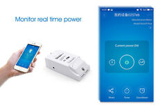 Sonoff Pow Power Current Test Measuring Wifi APP Remote Socket Smart Home Switch