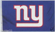 New York Giants Giant 4' x 6' Licensed NFL Logo Flag / Banner - Free Shipping
